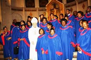 Choirs and Bishop