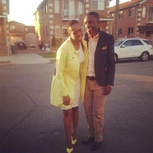 Estime Richard et Tardia Toussaint