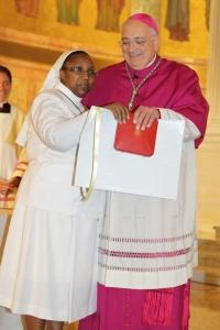 Bishop Dimarzioet Sr Juvenia